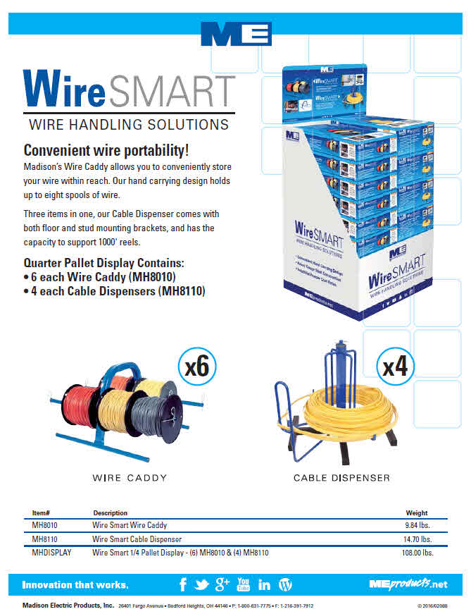New Madison Electric Smart Wire Handling Floor Display! - My Phoenix ...